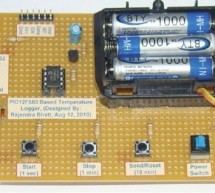 Single Chip Temperature Data Logger