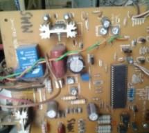 Single microcontroller based 12v to 230v inverter with intelligent battery charging