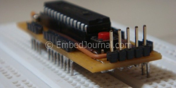 Standalone BreadBoard Breakout for PIC Microcontrollers