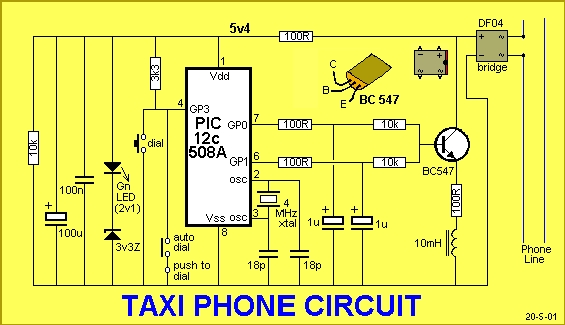 TAXI PHONE Schematic