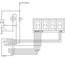 Temperature Indicator using PIC microcontroller