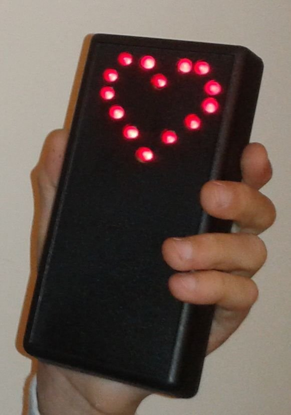 Electronic Heart (Flashing LEDs) - Mother's Day Project