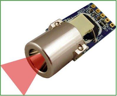 IR Sensor Circuit and Interfacing with PIC Microcontroller