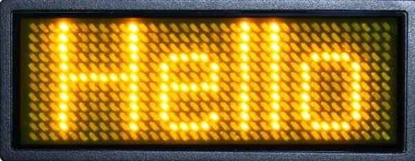 LED Scrolling Display Project Working With Circuit Diagram