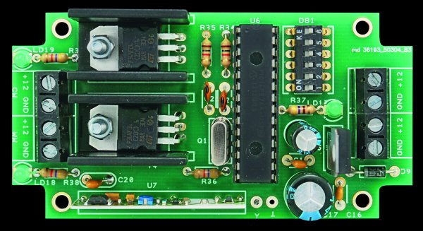 The perfect Remote, Programmable, Controller for interactive LED strips schematic