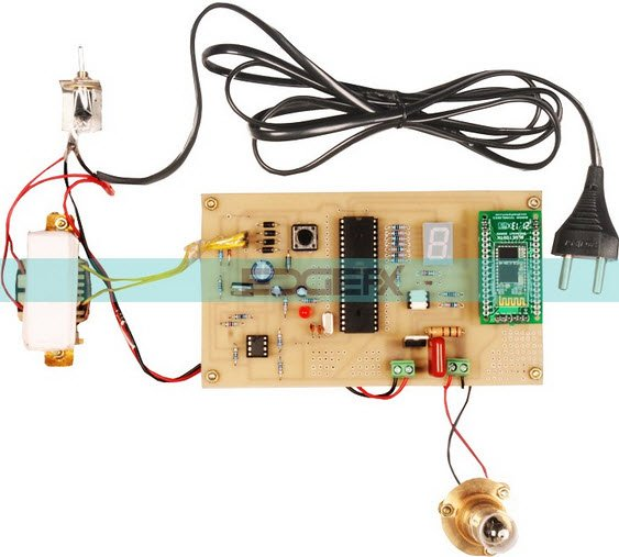 Top Microcontroller based Mini Projects for 3rd and 4th Year Engineering Students schematic