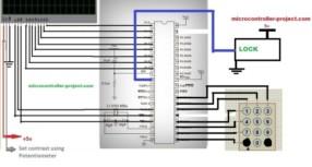 Automatic door lock system using 8051(89c51,89c52) microcontroller