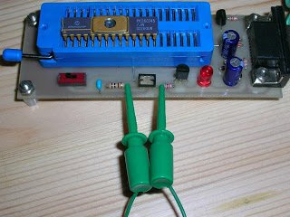 Automatic door opener with PIC12C508 Circuit