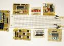 DIY plug-in modules to make microcontroller breadboarding easier