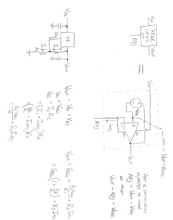 Fun with Voltage Regulators schematic