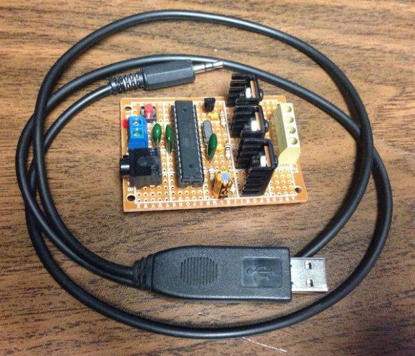 Generic Automotive Light Effect PIC Arduino Modules schematich
