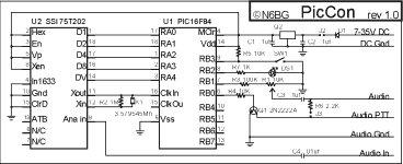 Hidden Radio Transmitter Controller schematich
