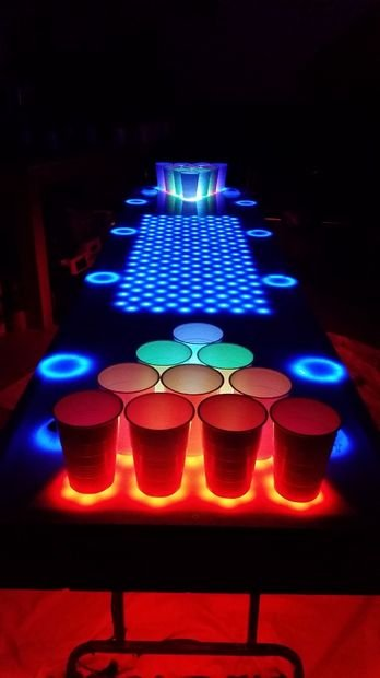 Interactive Led Beer Pong Table 2 0 Bpt X5
