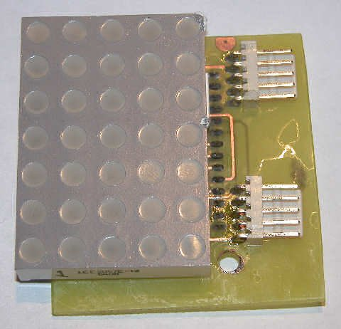 LED Matrix Backpack
