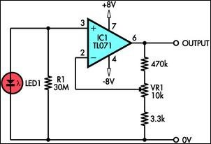 LED Sensors schematic
