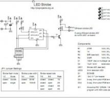 LED Strobe for PIC12F629 / 675