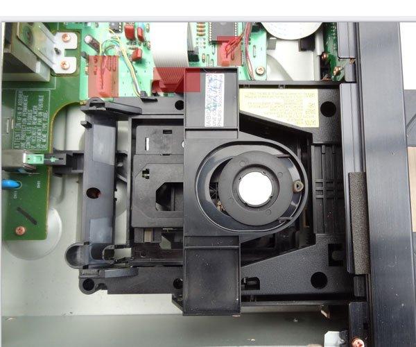 Marantz CD63SE laser transport mechanism replacement schematich