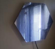 """Mirror """"Tube"""" – LED Optical illusion"""