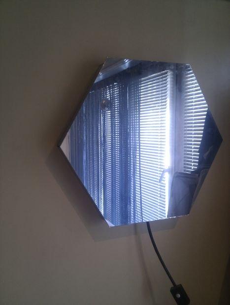 Mirror Tube LED Optical illusion