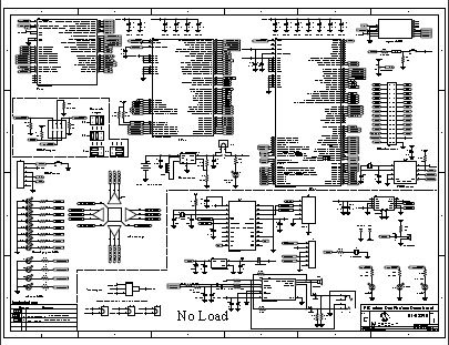 One PIC Microcontroller Platform Development Board schematic