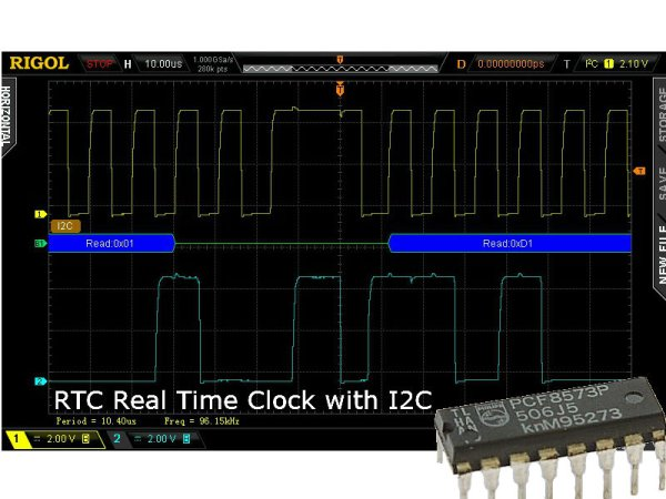 PCF8573P I2C Real Time Clock