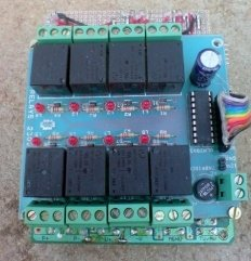 PIC Industrial and Domestic Timer (Relay Controller) schematic