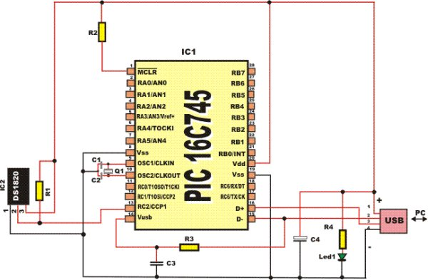 PIC MICROCONTROLLER PROJECTS AND LCD CIRCUITS schematich