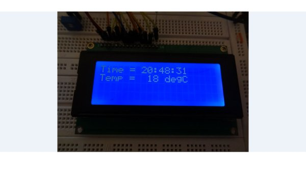 PIC Microcontroller project – 24 hour clock and thermometer displayed via 16f690 microcontroller and LCD programmed in C
