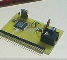 PIC16C74 Embedded 10BaseT Ethernet CS8900