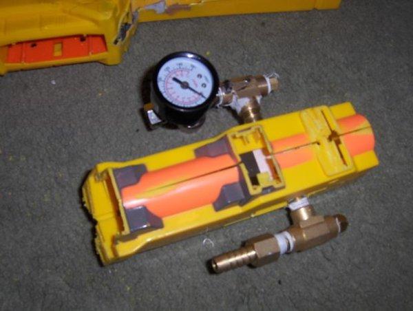 Semi-Automatic NERF Longshot schematic