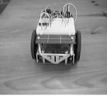 Servomotor-based mobile robot control
