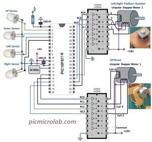 Solar Tracking System schematich