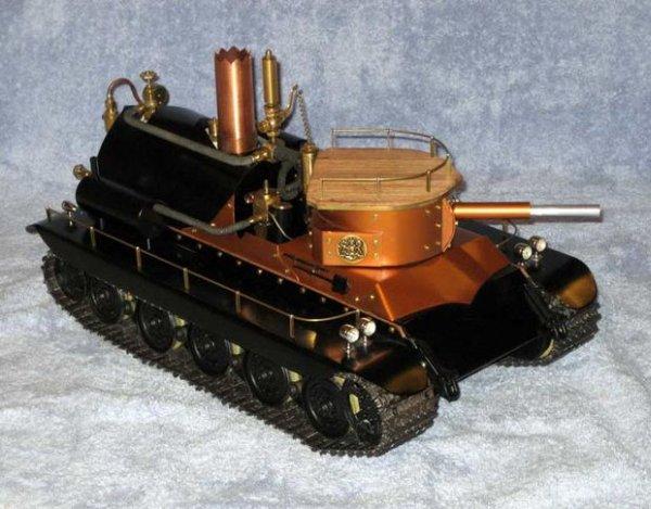 Steam Turret Tank R C PIC Servo Controller