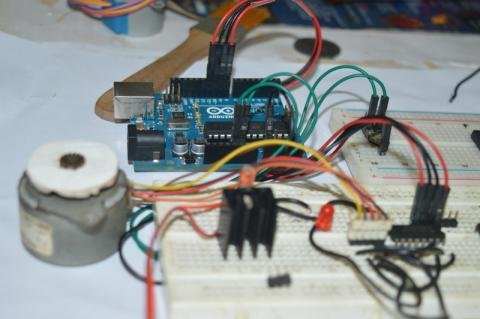Stepper Motor Speed Control with ADC - PIC18F4550