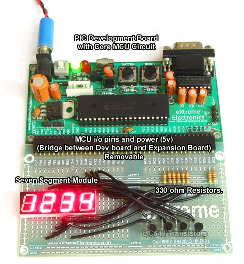 Thermometer with PIC Microcontroller