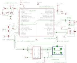 USB Interface Board Driver Installation PIC18F4550 schematic