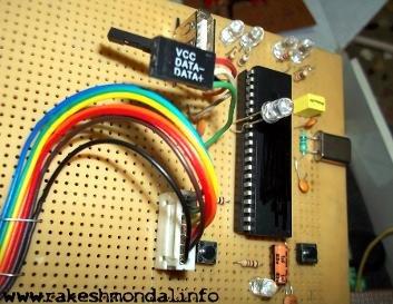 USB Interface Demo Board Using PIC18F4550