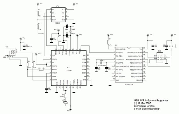 8051-PIC MICROCONTROLLER PROJECTS schematic