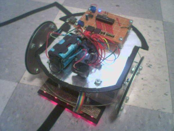 FailureBot 5 - A Line Following Robot
