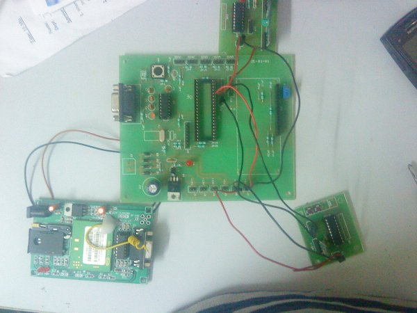 GSM Modem Interface with PIC 18F4550 Microcontroller