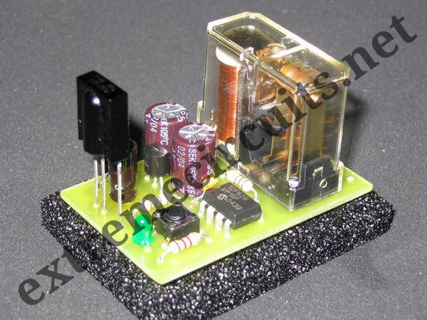 IR On Off Switch Using Microcontroller