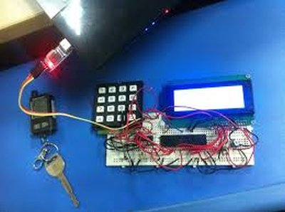 Matrix Keypad interfacing with PIC microcontroller