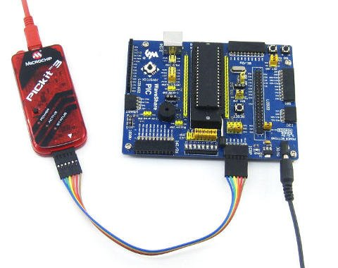 Microcontroller In Circuit Serial Programming (ICSP) with Microchip PIC