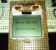 Nokia 1100 LCD Interfacing with Microcontroller