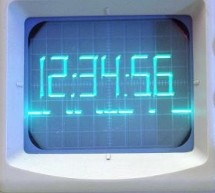 PIC Based Oscilloscope Clock