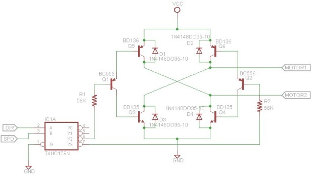 SL4A Bluetooth Controller schematic