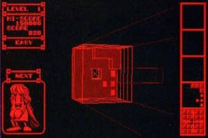 Virtual Tetris schematic