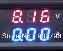 Voltmeter Ammeter Kit – Blue Backlight LCD