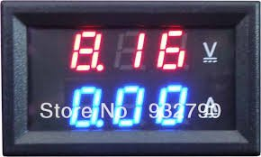 Voltmeter Ammeter Kit - Blue Backlight LCD