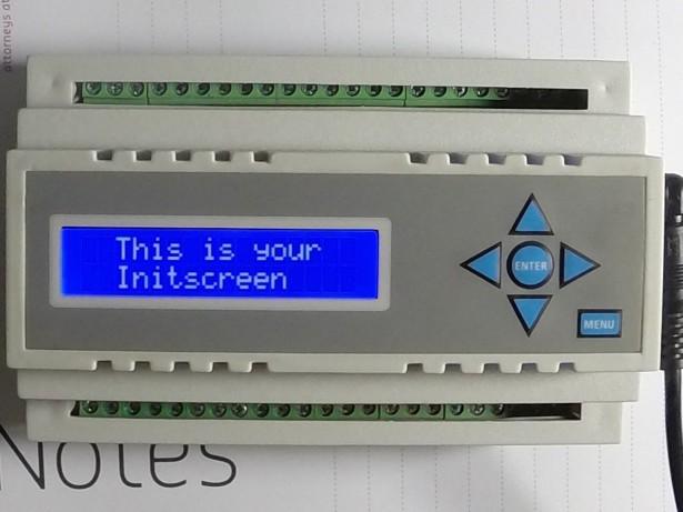 Arduino, Beaglebone, MCU enclosure with HMI (LCD & keypad)